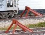 SL-8340 Peco Code 83 North American Type Hayes Track Bumper (2)